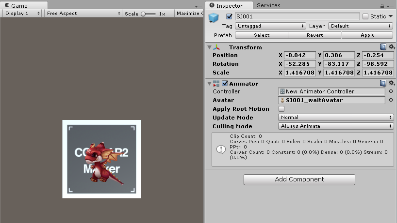 Animator component